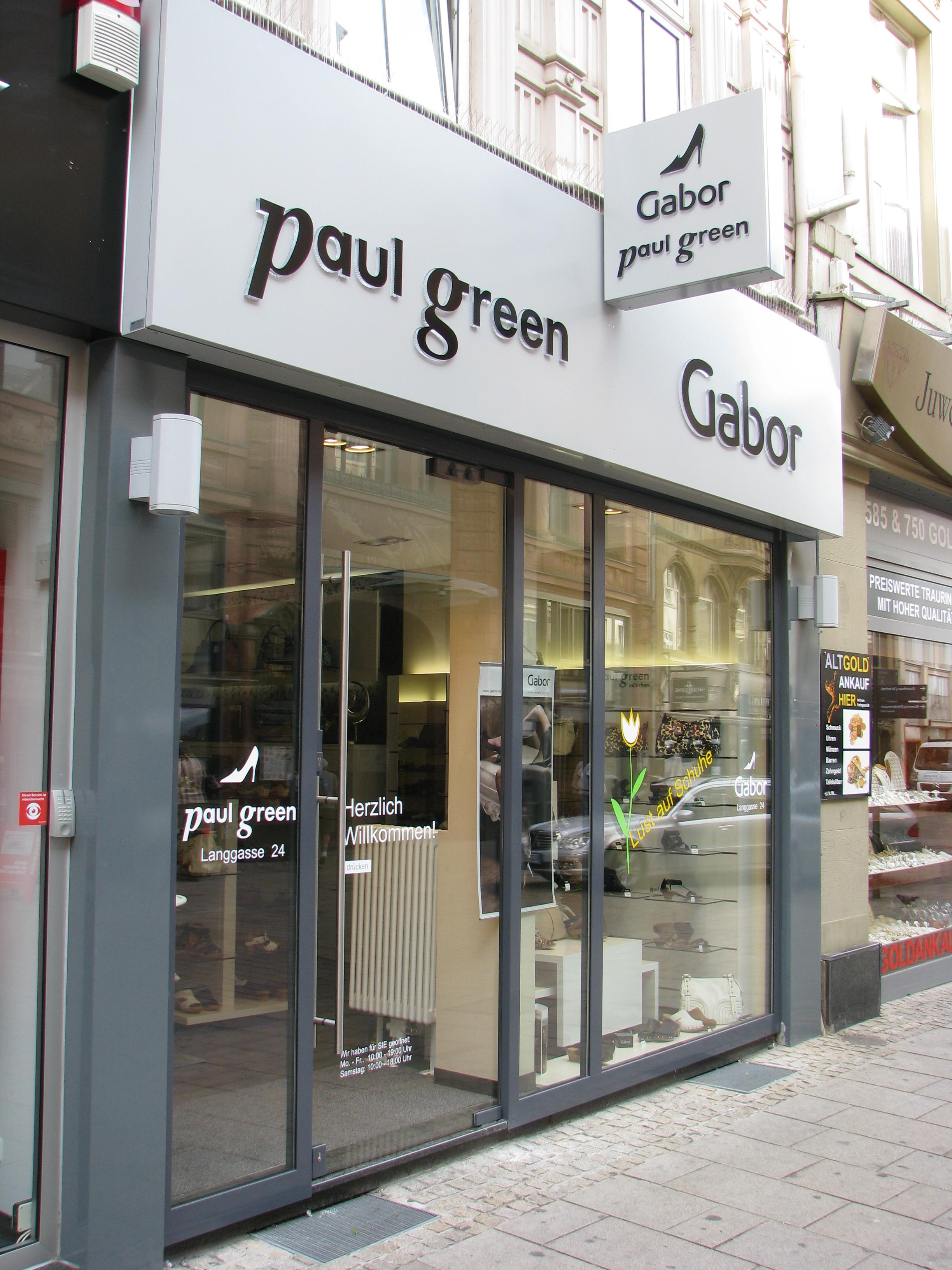 Gabor & Paul Green – Wiesbaden – Schuh Benner